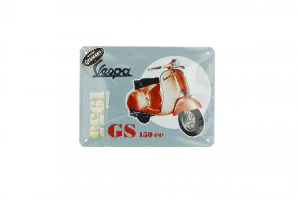 Vespa metal plateVespa GS150 since 1955