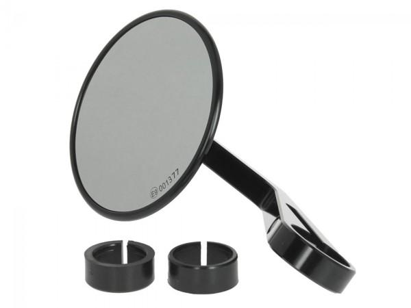 Handlebar mirror Highsider Montana for Vespa left or right, black