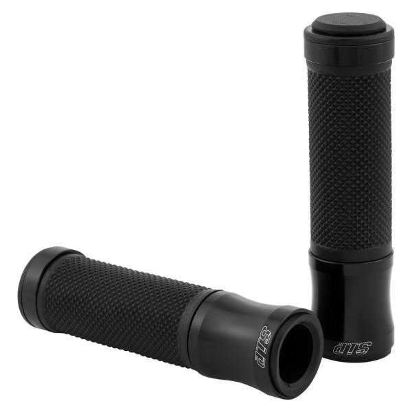 Grips black matt SIP for Vespa ET / LX / LXV / S / Primavera / Sprint 50-150ccm