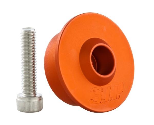Mounting kit for handlebar mirror without handlebar end weights, MK II, orange