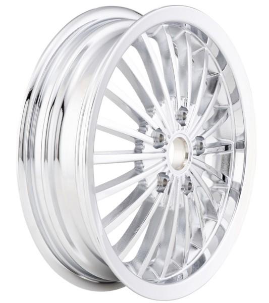 Rim front/rear for Vespa GTS/GTS Super/GTV/GT 60/GT/GT L 125-300ccm, chrome