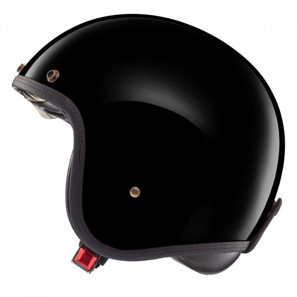 Helmo Milano open face helmet, Audace, medium grey
