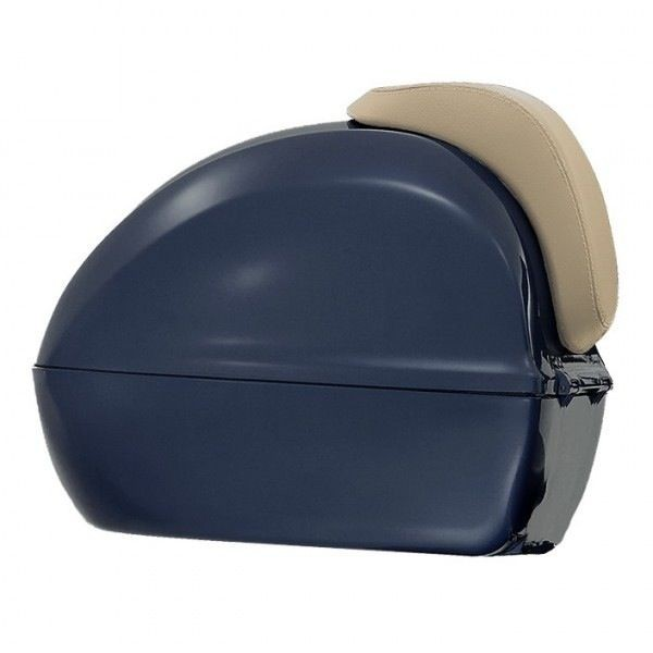 Original Backrest Top Case Vespa Primavera Beige - 1B001076000B