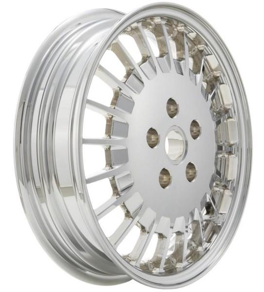 Rim front/rear for Vespa GTS/GTS Super/GTV/GT 60/GT/GT L/946 125-300ccm, chrome