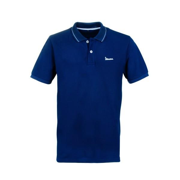 Vespa Graphic Polo man blue