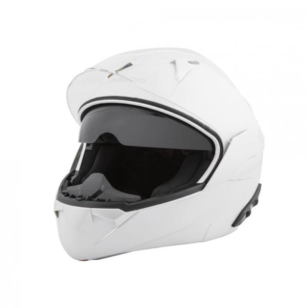 Piaggio modular helmet white