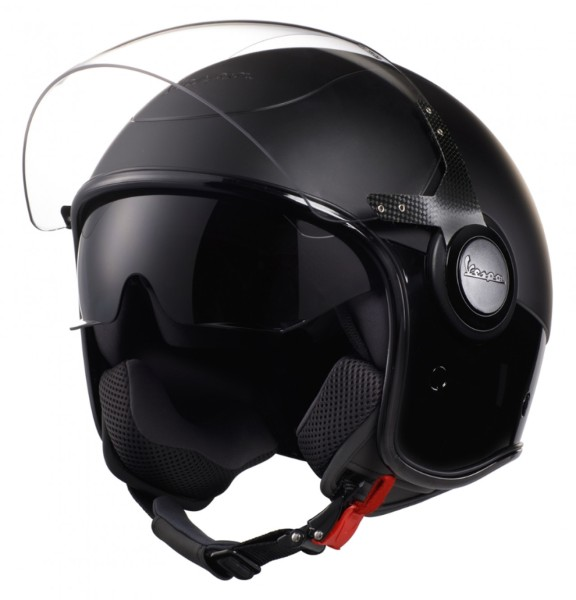 Vespa VJ Helmet all black