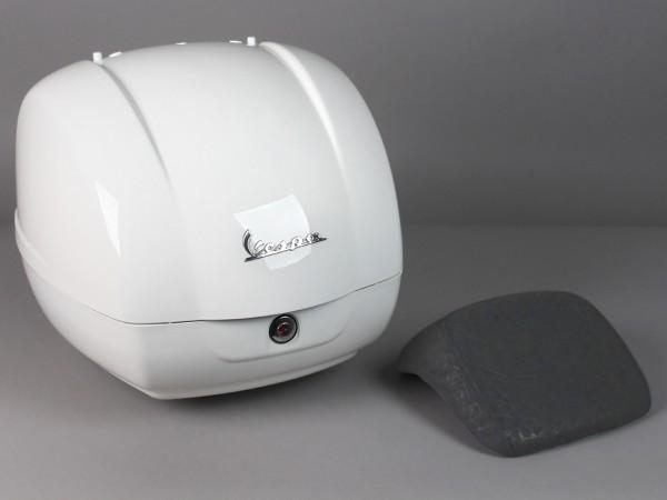 Original top box Vespa GTS - white montebianco / innocenza 544 (till 2014)