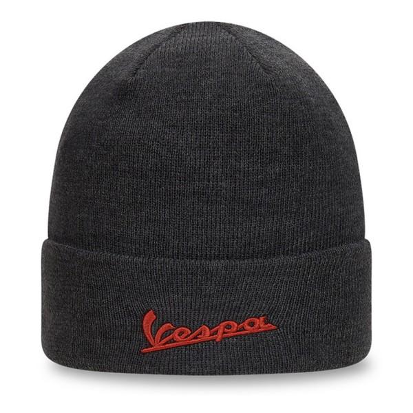 Vespa knitted hat NEW ERA black