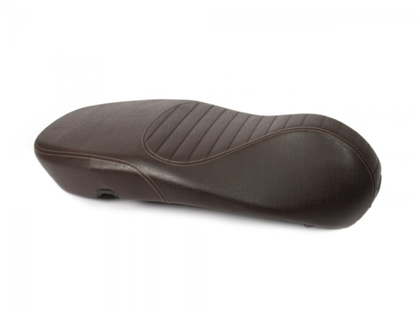 Original Vespa seat quilted for Vespa Primavera / Sprint brown
