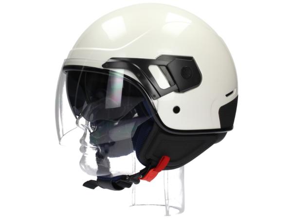 Piaggio PJ Jet helmet white pearl