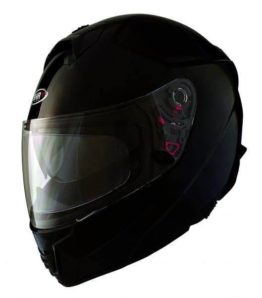 Shiro Integral Helmet, SH351, Fiber, black matt