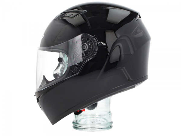 Shiro Integral Helmet, SH600, Monocolor, black