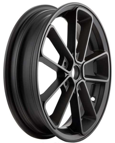 "Rim front/rear 13"" for Vespa GTS/GTS Super/GTV/GT 60/GT/GT L 125-300ccm, matt black"