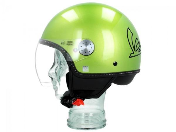 Vespa Jet Helmet Visor 3.0 green