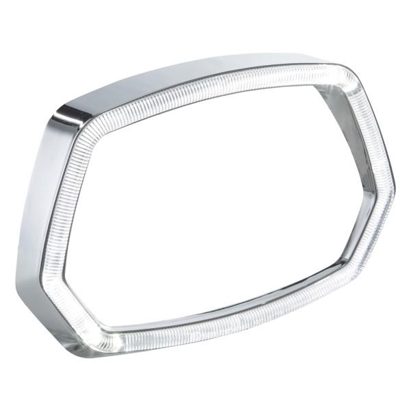 Lamp ring chrome LED light ring for Vespa Sprint 125 / 150ccm 4T ('13 -'18)