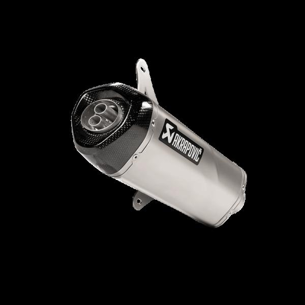 Akrapovic Exhaust Slip-On VESPA (GTS125 / 150i.e Super 2009-2016) / GTS / GTV 250/300 GTS / Sei Giorni / HPE