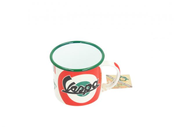 Vespa enamel mug The Italian Classic