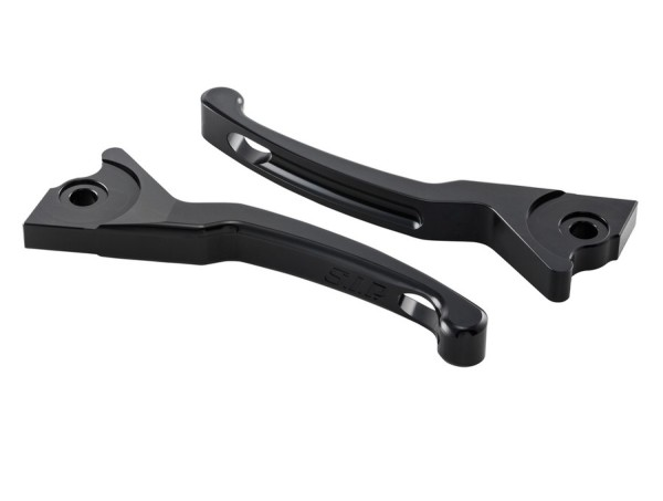 Sport Lever Set brake Shorty for Vespa, black, left and right