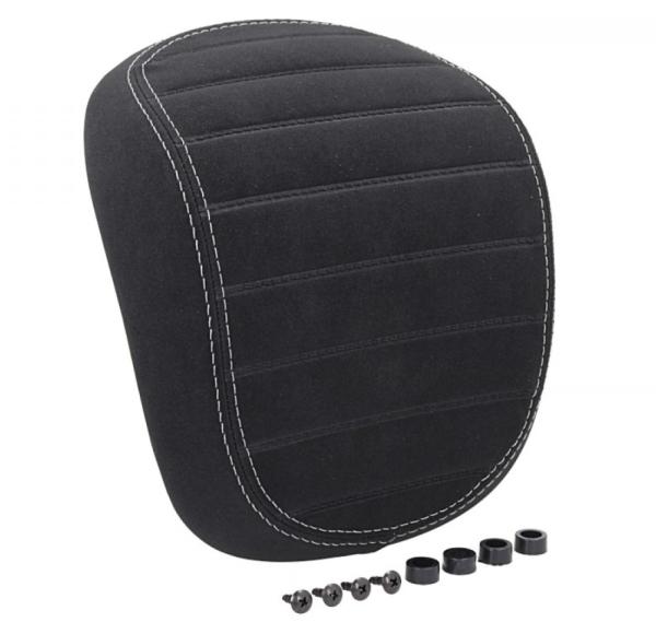 Original Backrest Vespa Primavera / Sprint black with white stitching
