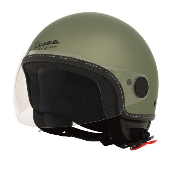Vespa Sei Giorni Jet Helmt green
