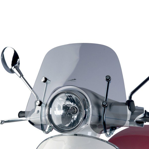 Smoked effect flyscreen Cruiser for Vespa Primavera / Elettrica
