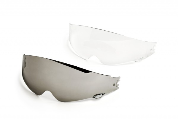 Helmo Milano inner visor, clear, scratch-resistant, all models with internal sash
