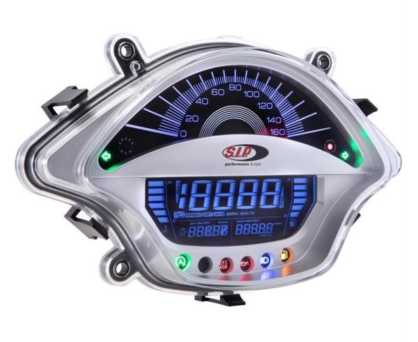 Speedometer/Rev Counter for Vespa GTS/GTS Super 300ccm FL ('14-), silver