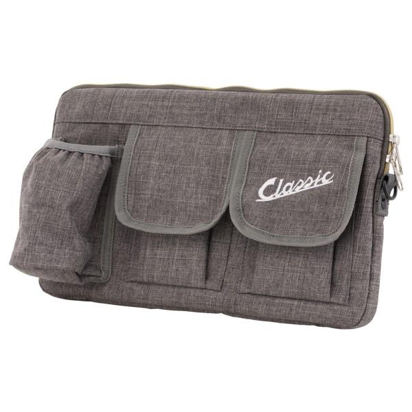 """Bag """"Classic"""" for luggage compartment / glove box Vespa - gray, nylon"""