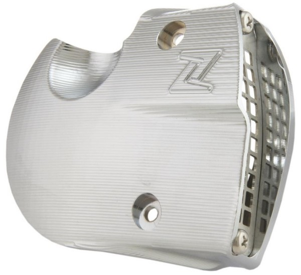Air intake vario cover for Vespa GTS/GTS Super/GTV/GT, chrome