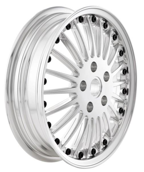 Rim Sport Classic front/rear for Vespa GTS/GTS Super/GTV/GT 60/GT/GT L/946 125-300ccm, silver