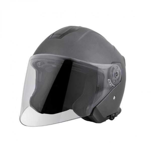 Piaggio PFJ Jet helmet grey