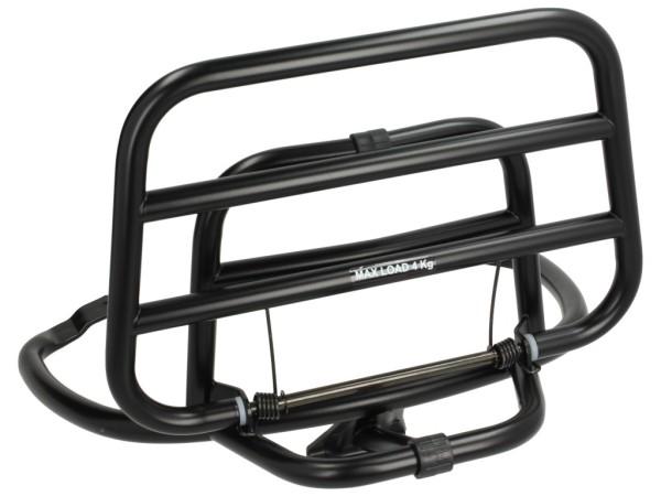 Folding rear rack Vespa Primavera / Sprint - black