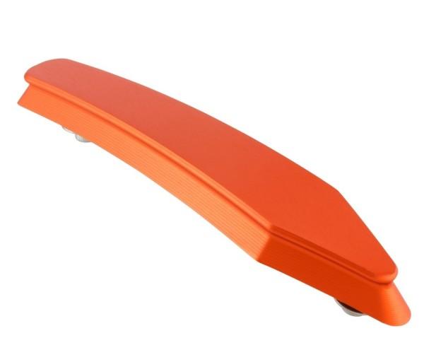 Mudguard crest for Vespa GTS/GTS Super/GT/GT L 125-300ccm, matt orange
