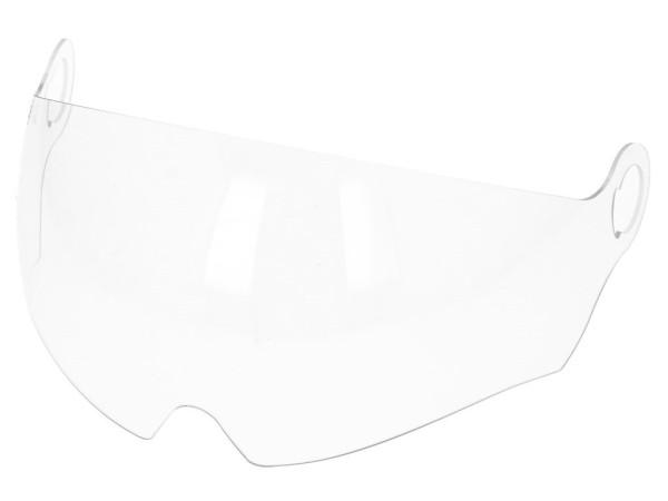 Original visor ergonomic formed for Vespa V Stripes helmet