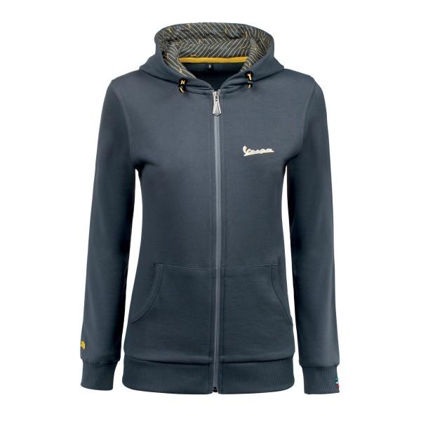 Vespa Graphic Sweatshirt woman grey