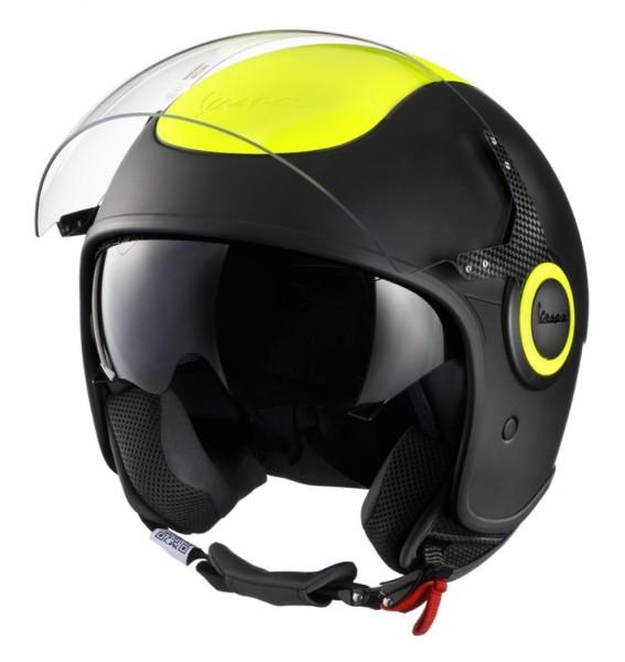 Vespa VJ Fluo helmet yellow fluorescent