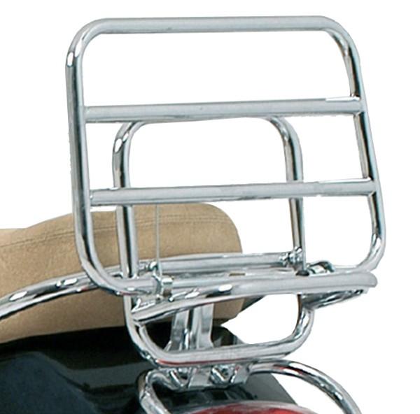 Original foldable Rear Carrier Chrome Vespa LX / S