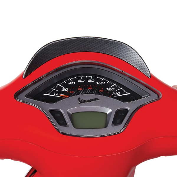 Dash cover carbon look for Vespa Sprint