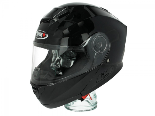 Shiro Flip Up Helmet, SH507, black
