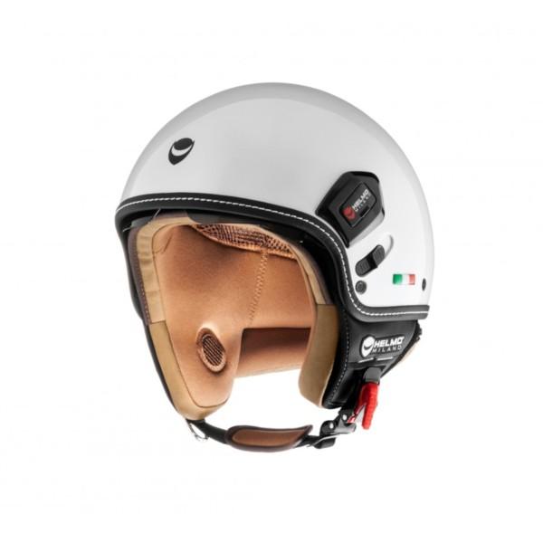 Helmo Milano Demi Jet, Puro Premium, white, glossy