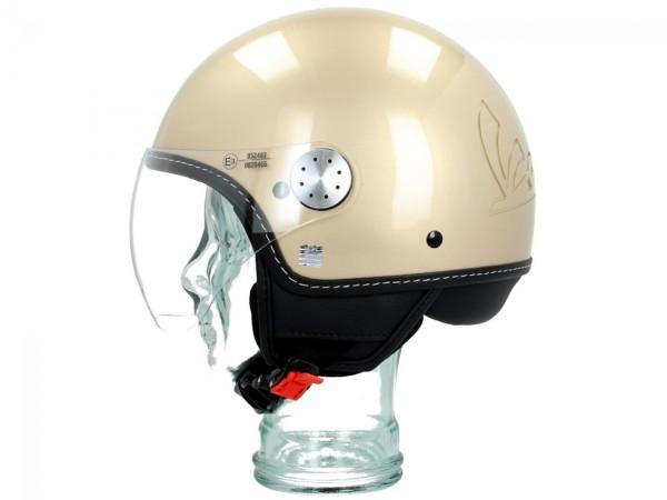 Vespa Jet Helmet Visor 3.0 beige elegance