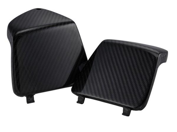 Glovebox door trim left/right for Vespa GTS/GTS Super/GTV/GT 125-300ccm, carbon
