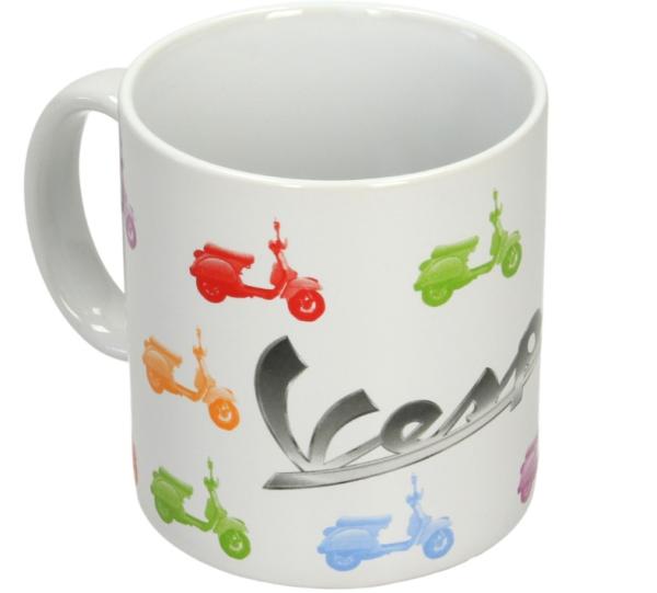 Vespa mug white