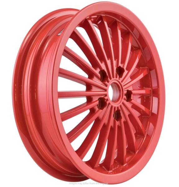 Rim front/rear for Vespa GTS/GTS Super/GTV/GT 60/GT/GT L 125-300ccm, red
