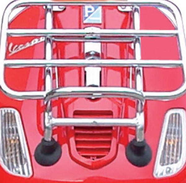 Original foldable Front Carrier Chrome Vespa S