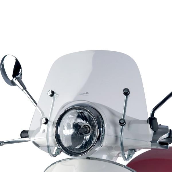 Transparent flyscreen Cruiser for Vespa Primavera / Elettrica